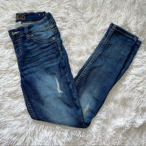 Girls Distressed Justice Jeans